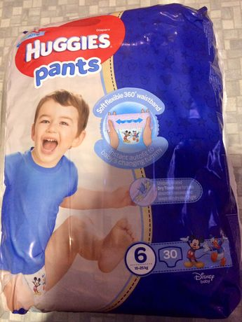 Подгузники-трусики Huggies pants (2 пачки)