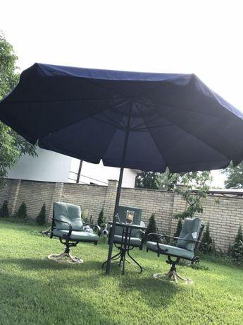 Зонт садовый диаметр 4 метра. Навес .Можно для кафе, магазинов и тд