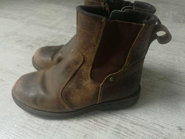 Jesienne buty botki timberlandy skóra!okazja!dl wkl.18.5