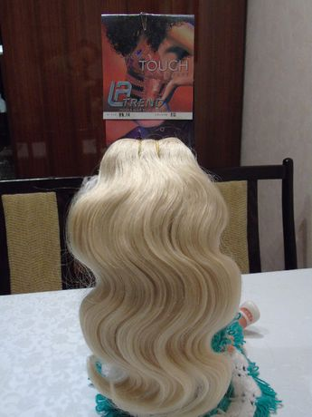 włosy mieszane / naturalne + sztuczne/