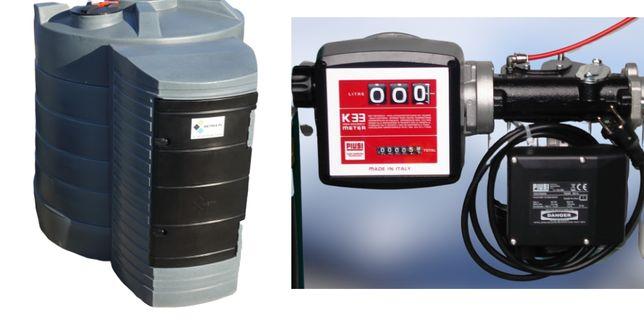 Zbiornik dwuplaszczowy na paliwo rope olej napędowy cpn 5000L