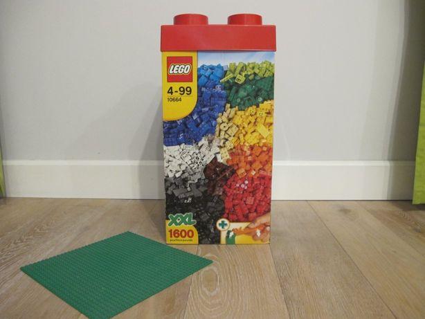 Klocki Lego 10664 x2 5kg + dachy + okna + koła + zielona płyta