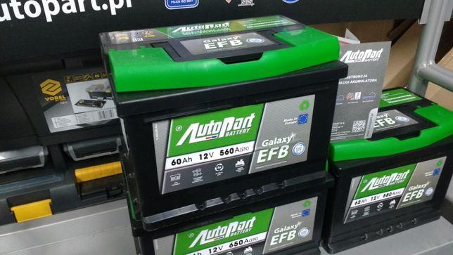 Akumulator AutoPart Galaxy Start Stop EFB 60Ah 560A Taxi Ford Opel Krk