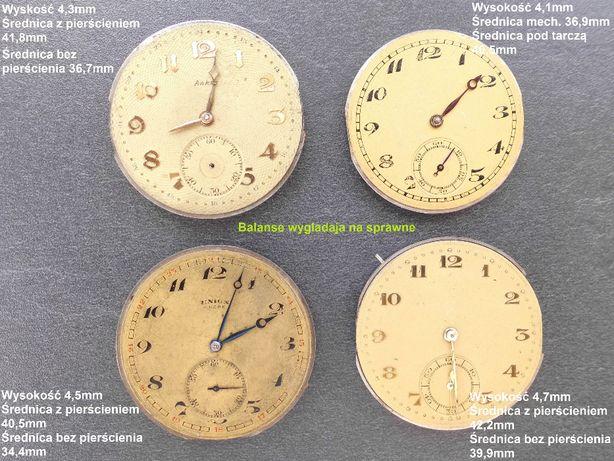 Mechanizmy do męskich zegarków kieszonkowych 4 szt.