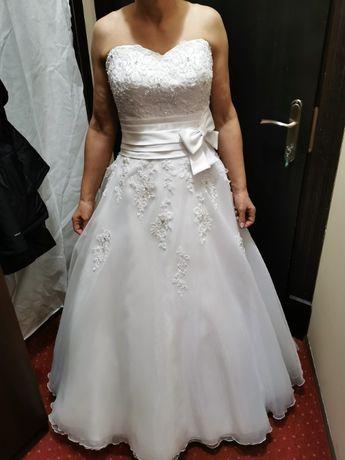 suknia ślubna Elizabeth Passion + gratisy PRZEPIĘKNA !!! 36/38