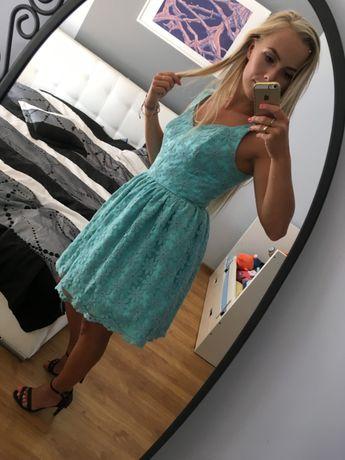 sukienka turkusowa, illuminate S