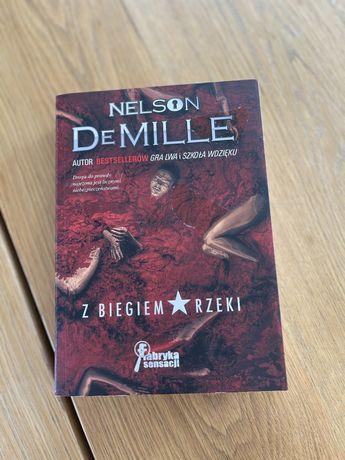 Nelson DeMille z biegiem rzeki ksiazka