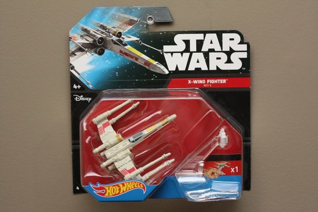 Hot wheels - Star Wars X-Wing Red 5
