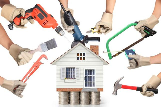 Usługi Remontowe Budowa Domów, Elewacje, Posadzki Ozonowanie Osuszanie