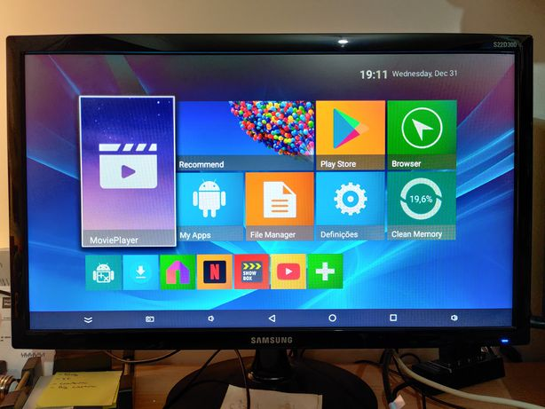 Tv box Android M96X