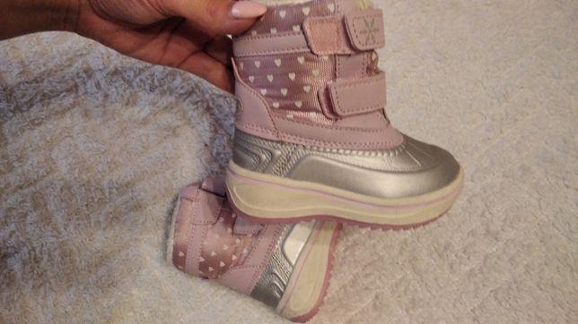 Zimowe buciki dla dziewczynki roz 21