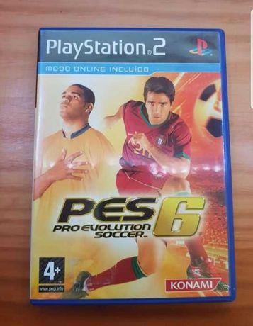 PES 6 : Jogo PS2