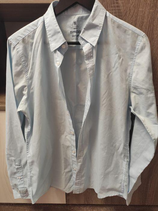 Мужская голубая рубашка Зарванцы - изображение 1