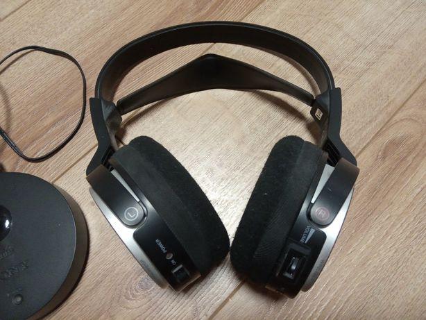 Słuchawki bezprzewodowe Sony ze stacją anteną