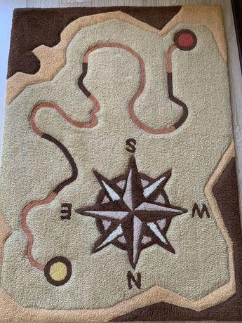 Dywanik wełniany 100x140 Meblik