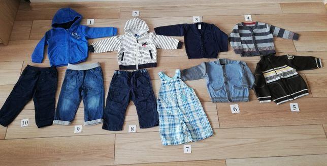 Bluza Sweter Spodnie Ogrodniczki m.in. C&A H&M Next Lupilu 86-92