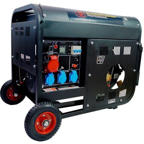 AGREGAT PRĄDOTWÓRCZY diesel 9,5kW | 13KM AVR trójfazowy NOWY Wysyłka!