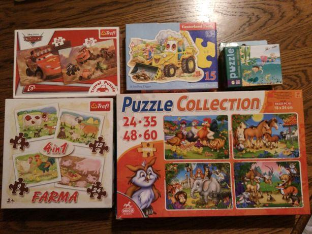Puzzle Trefl Disney Castorland Zielona Sowa