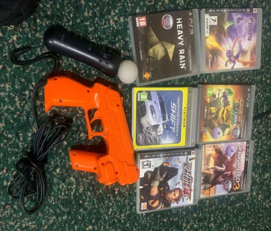 Ps 3 Games and microphones