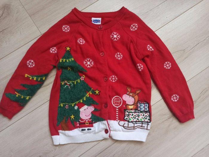 Кофта рождественская новогодняя как свитер Свинка Пеппа Одесса - изображение 1