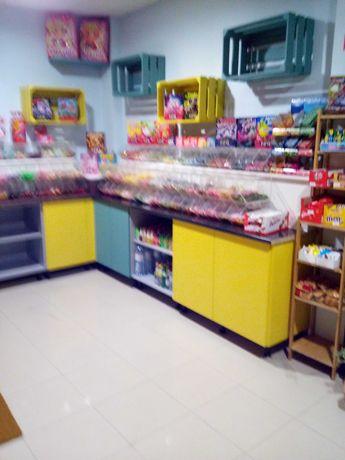 cedo exploração de loja de gomas doces