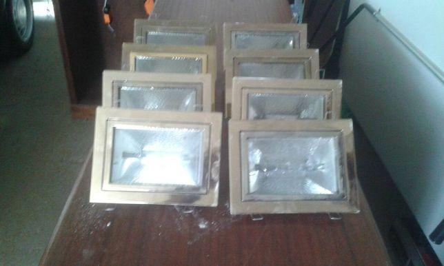 Vendem-se 6 armações algumas com lâmpadas halogéneo