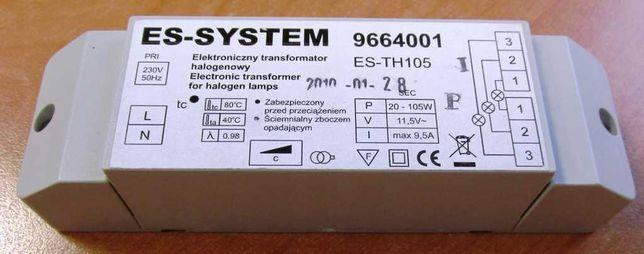 Электронный трансформатор для галогенных ламп. 9664001. ES-TH105