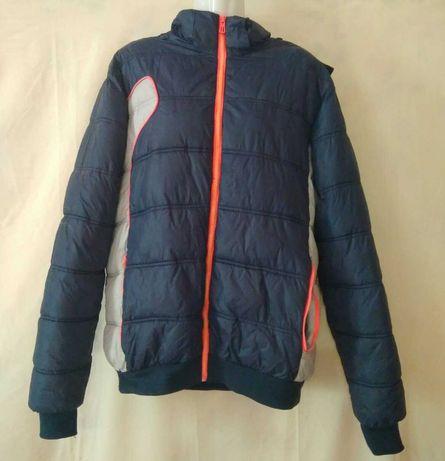 Куртка мужская зимняя на змейке. 48 р-р. Очень теплая.