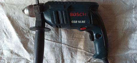 Ударная дрель Bosch GSB-16RE
