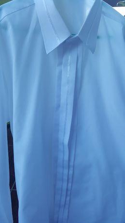 biała koszula wizytowa r158