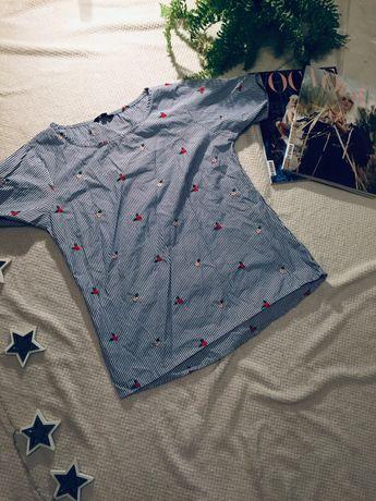 Greenpoint bluzka z haftem 38 M