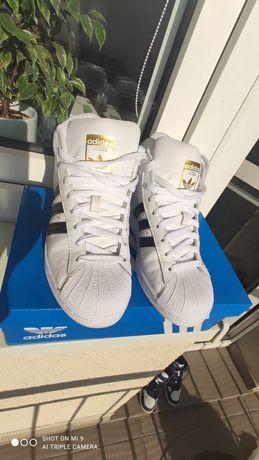 Buty adidas pro_białe_rozm. 36 2/3