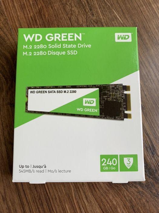 Dysk SSD WD Green WDS240G2G0B 240 GB m.2 SATA III Wodzisław Śląski - image 1