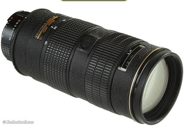 Nikon AF-Nikkor 80-200mm f/2.8D af-s