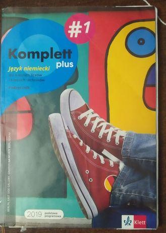 Komplett plus #1 podręcznik. Język niemiecki