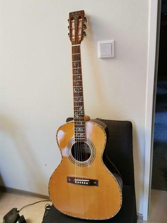 Wyjątkowa gitara elektroakustyczna Harley Benton Premium