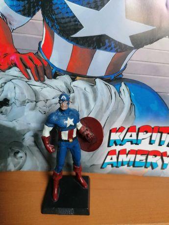 Kapitan Ameryka,figurka kolekcjonerska Marvel