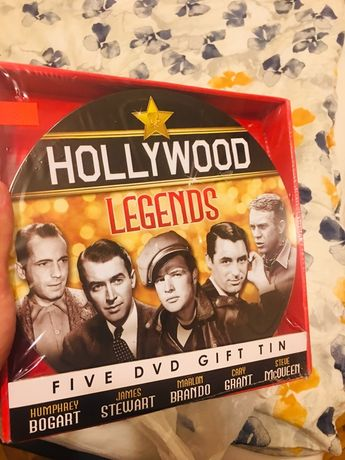 Hollywood Legends 5 DVD Gift Tin