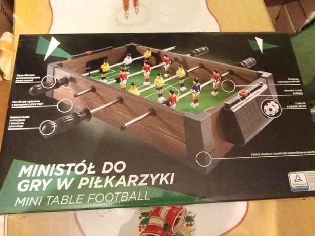 Mini stół do gry w piłkarzyki nowy