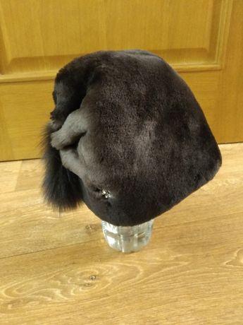 Новая шапка из натурального мутона