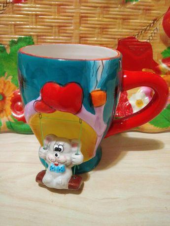 Чашка с мышкой