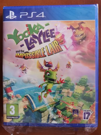 Yooka-Laylee and the Impossible Lair PS4 jak nówka w folii