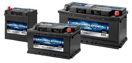 NOWY Akumulator HART (Varta) 45AH 400A 207x175x190