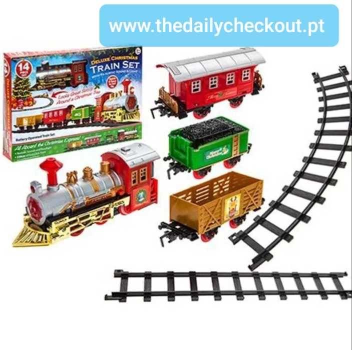 Comboio de natal- 14 peças - Disponível nas próximas semanas!