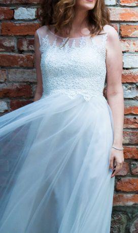 Sukienka ślubna Ecri - rozmiar 40