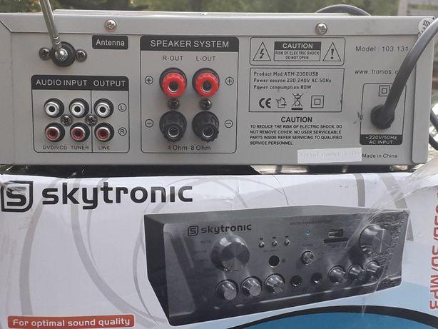 Wzmacniacz Skytronic 103.131 USB/SD/MP3