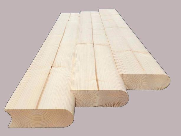 Deska Block 44x121 do budowy saun beczek bali