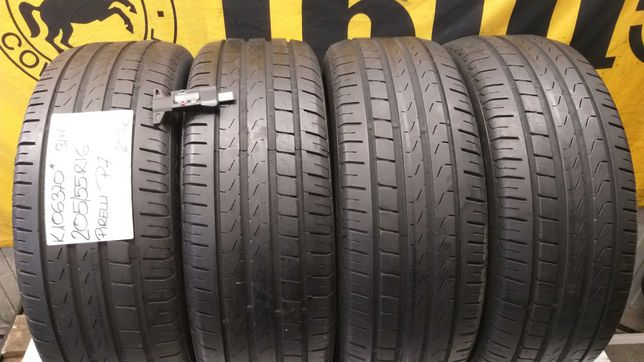 K106370 komplet 205/55R16 91W Pirelli P7 2012r.