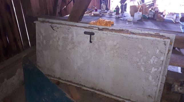drzwi stalowe techniczne 100 cm