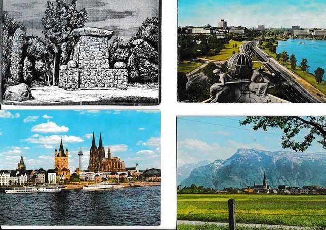 Alemanha -Coleção 1.200 postais diferentes Paisagens e Monumentos -